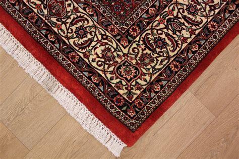teppiche quadratisch teppich perserteppich bidjar mit seide 210x202 cm
