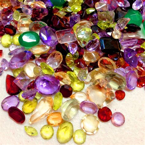 gems you choose the carats lot mixed faceted