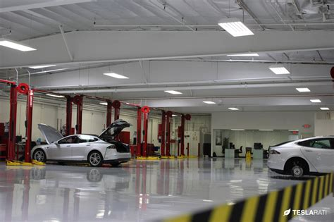 service in tesla la club unveils los angeles largest tesla service center through scavenger hunt