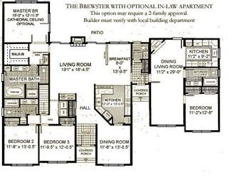In Law Apartment House Plans Owner Occupied Multi Unit Building Plans 171 Unique House Plans