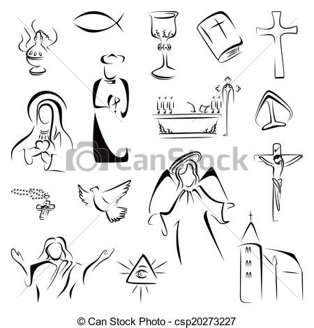 catholic churchmen in science sketches of the lives of catholic ecclesiastics who were among the great founders in science classic reprint books vector illustration of religion icons collection of