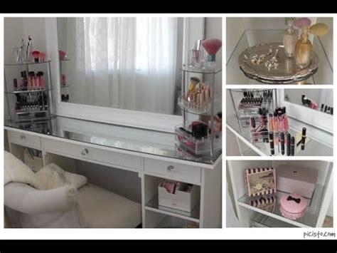 Makeup Vanity Decor Organizing My Vanity Room Youtube