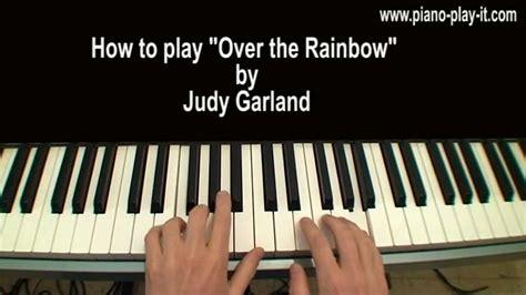 Tutorial Piano Over The Rainbow   over the rainbow piano tutorial judy garland youtube
