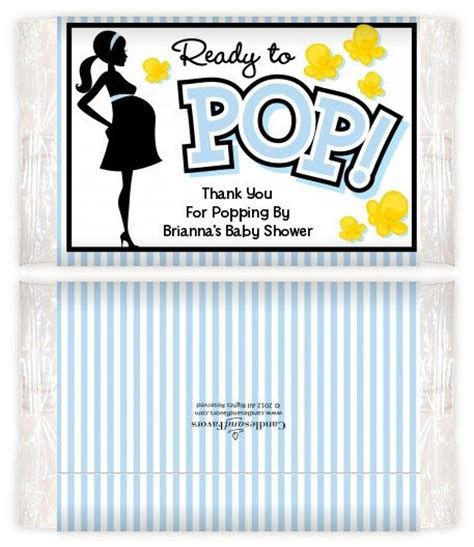 popcorn wrapper template free ready to pop blue printable popcorn wrappers themed