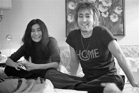 construction time again john lennon y ko ono iconic john lennon photos to be exhibited in liverpool for