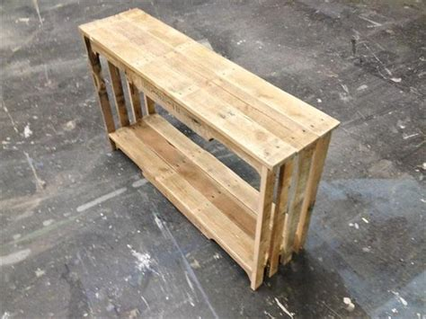 pallet sofa table diy pallet sofa table with shelf pallet furniture plans