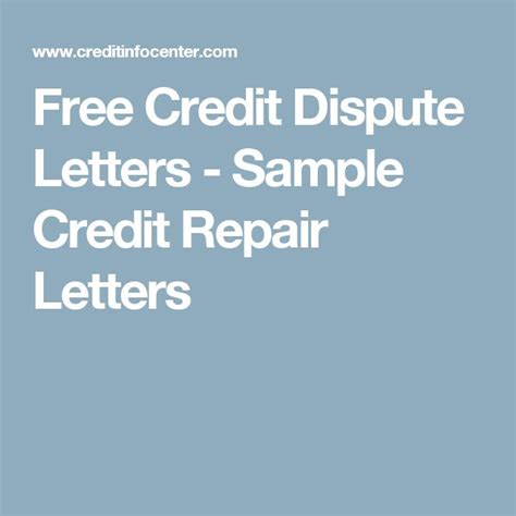 Credit Repair Letter Sles best 25 credit dispute ideas on essay