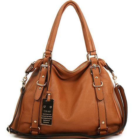 Womens Handbag Brown new leather handbag shoulder bag brown black hobo