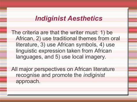 themes in oral literature post indiginist realism in modern african drama