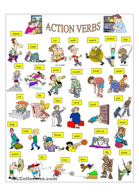 verbs list for f f info 2017