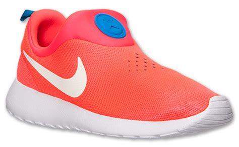 Sepatu Sport Nike Roshe Run Slip On Casual Running Keren nike roshe run slip on laser crimson photo blue sportfits