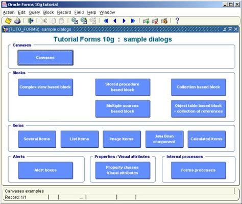 oracle xml tutorial 10g image gallery oracle forms