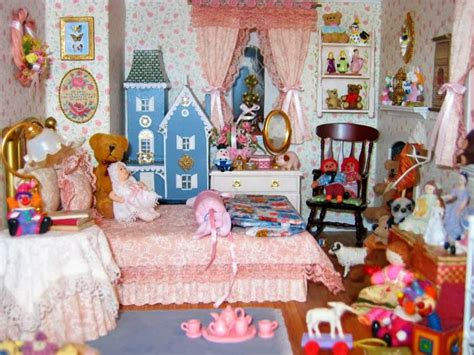 dollhouse bedroom blukatkraft victorian dollhouse miniature sewing