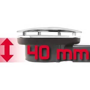 bonde horizontale slim expert plate 40mm