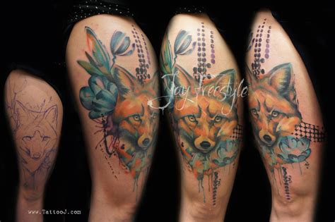 freestyle tattoo fox freestyle by jayfreestyle on deviantart