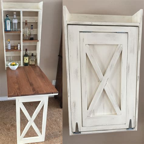 craft cabinet with drop down table ana white drop down murphy bar diy projects
