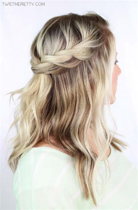 Easy Hairstyles For With Hair by 41 Diy Cool Easy Hairstyles That Real Can Actually