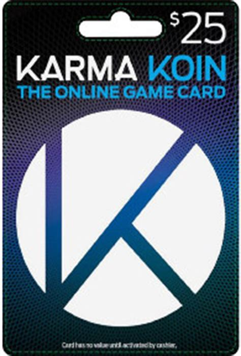 Karma Koin Gift Card - karma koin gift card with 25 credit tunezip