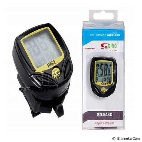 Speedometer Sepeda Wireless Display Lcd Sd 548c Jual Sunding Speedometer Sepeda Wireless Bicycle Stopwatch Bike Cyclometers Sd 548c Murah