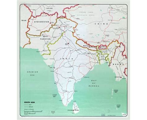 the map of south asia maps of south asia south asia maps collection of