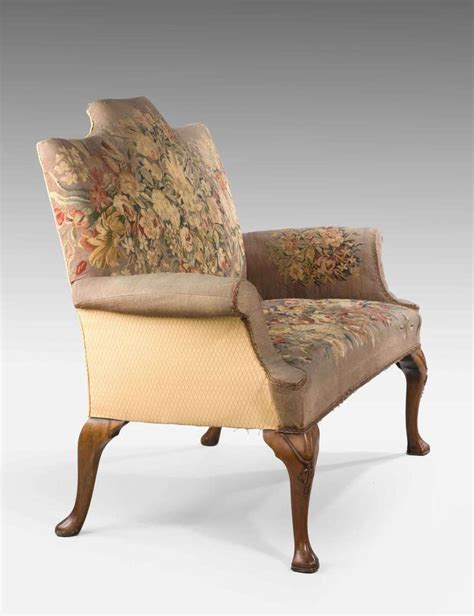 queen anne 2 seater sofa queen anne design walnut two seater sofa at 1stdibs