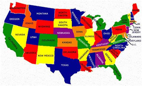 map of america states only usa map thinglink