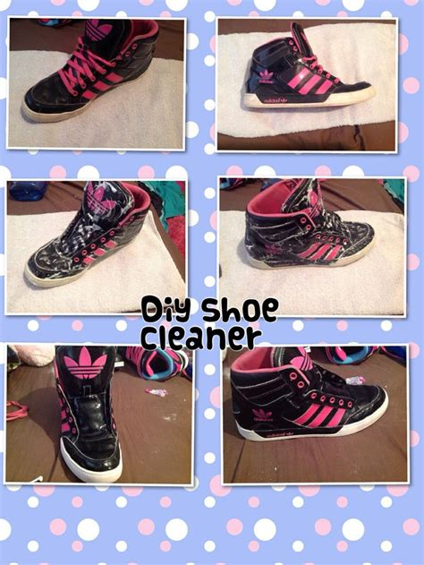 diy shoe cleaner diy shoe cleaner 1 2 tbs dish soap 1 tbs baking soda