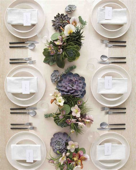 top 28 decorating with floral decorating ideas martha 36 ideas for using succulents at your wedding martha