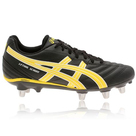 rugby shoes for asics lethal scrum rugby boots 20 sportsshoes
