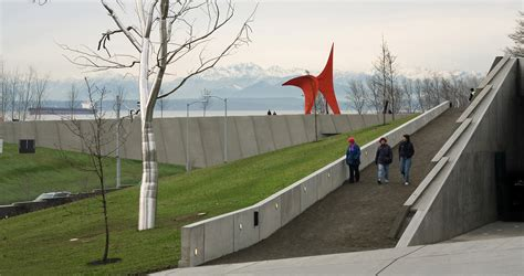 seattle museum sculpture garden weiss manfredi seattle museum olympic sculpture park