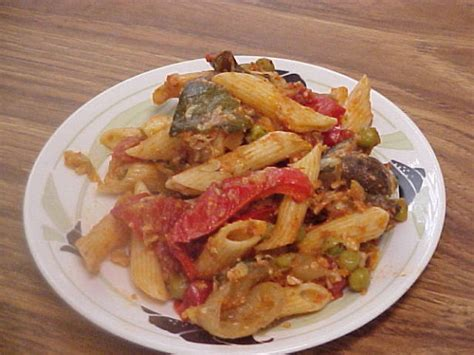 baked penne with roasted vegetables recipe giada de baked penne with roasted vegetables courtesy giada de la