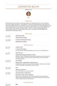 Resume Exles For Licensed Vocational Nurses Lvn Resume Sles Visualcv Resume Sles Database