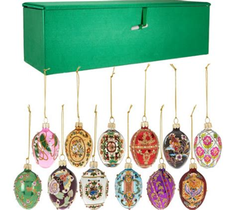 musical egg ornaments from qvc joan rivers 2016 set 12 mini russian inspired egg ornaments page 1 qvc