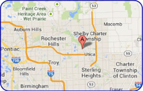 shelby township mi map auto medics of shelby mi car repair and truck service