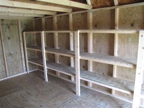 Metal Shed Shelving by Garage Package Boise Storage Sheds