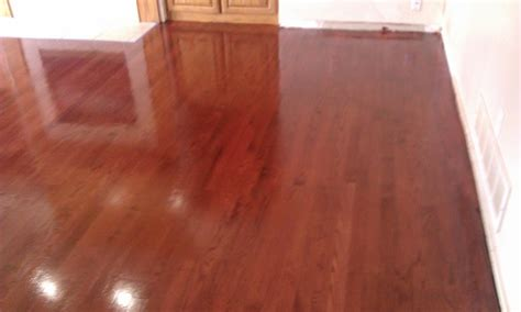 Home Decor Omaha by Custom Brazilian Cherry Stain