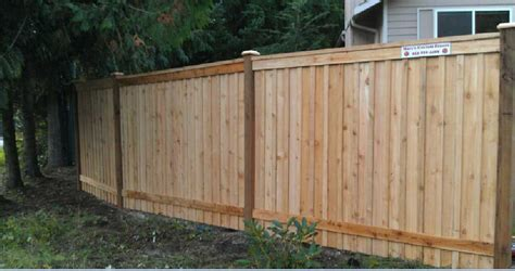 Backyard Fences by Custom Fences By Marc Tacoma Fence