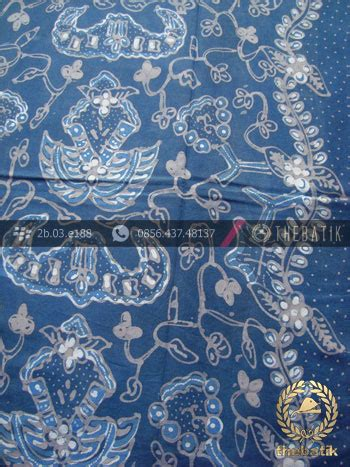 Kain Batik Garutan Warna Biru jual kain batik tulis warna alam wahyu tumurun biru thebatik co id