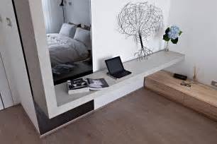 contemporary bedroom shelving interior design ideas