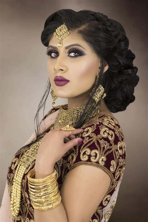 bridal hairstyles courses london indian asian bridal hair and makeup courses london