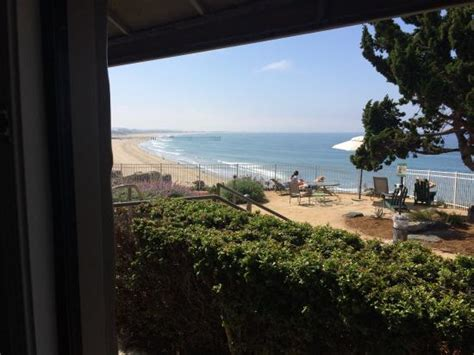 cottage inn by the sea reviews view from our room picture of cottage inn by the sea pismo tripadvisor