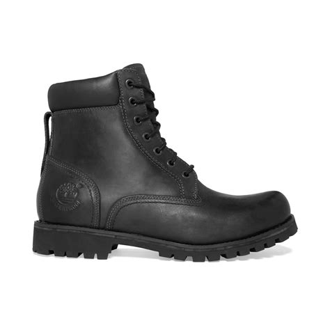 timberland black boots for timberland earthkeepers rugged 6 waterproof boots in black
