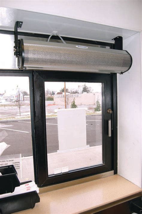 air curtain for restaurant berner s new quot drive thru quot air curtain has industry s