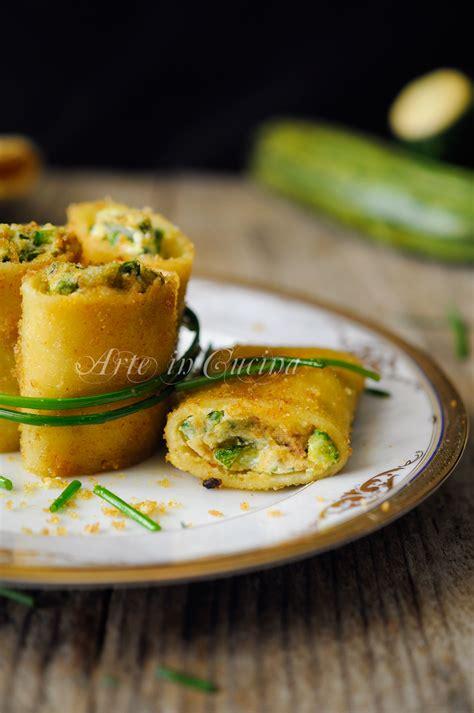 cucinare i paccheri paccheri zucchine speck e ricotta gratinati in padella