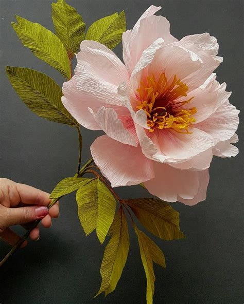 Flowers Out Of Crepe Paper - 25 best ideas about crepe paper roses on