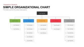 simple organizational chart slidebazaar