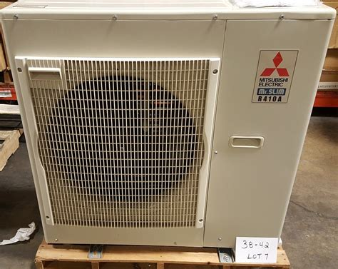 lot 38 42 7 mitsubishi electric mini split outdoor