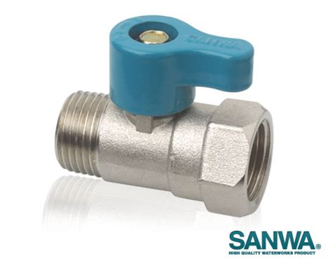 Sanwa Mini Valve Stop Kran Mini Sanwa Type Mf Ukuran 12 valve