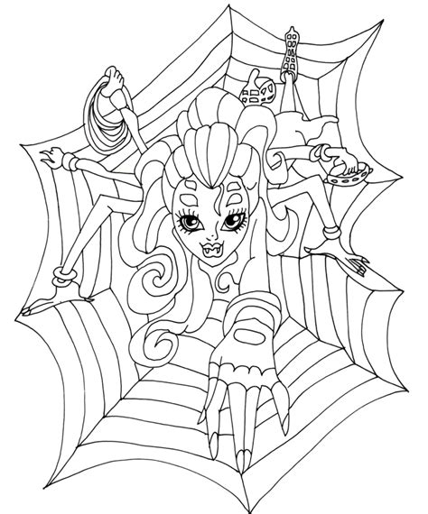monster high halloween printable coloring pages coloring pages photo monster high print coloring pages
