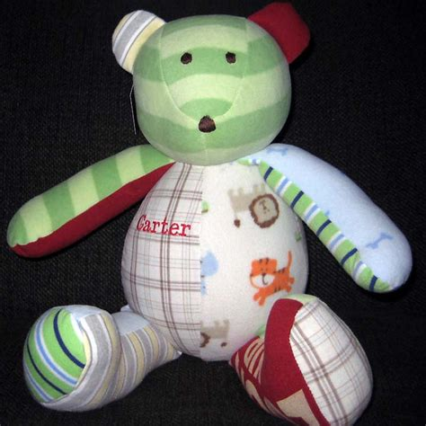 Patchwork Bears - the patchwork entries handmade with